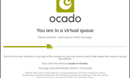 Supermarkets Sites Have Virtual Queues, Ban New Users and Are Down Regularly